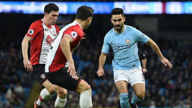 Gundogan says Southampton made it tough for City at the Etihad Stadium