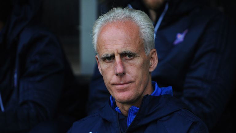 BURTON-UPON-TRENT, ENGLAND - OCTOBER 28: Mick McCarthy, manager of Ipswich looks on during the Sky Bet Championship match between Burton Albion and Ipswich