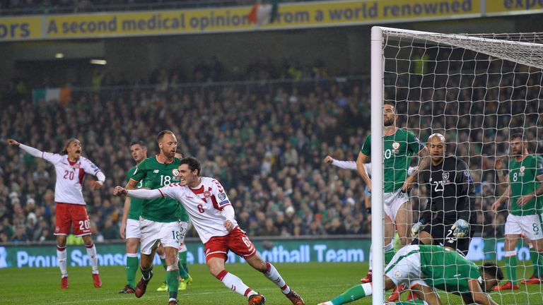 Andreas Christensen's goalwards effort was turned over the line by Cyrus Christie