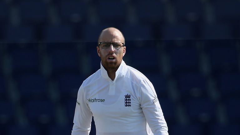 Jack Leach bagged match figures of 8-110 in Jamaica