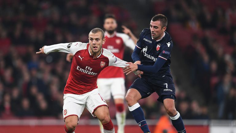 Jack Wilshere is one of the players who have spoken of their frustration at being left out this season
