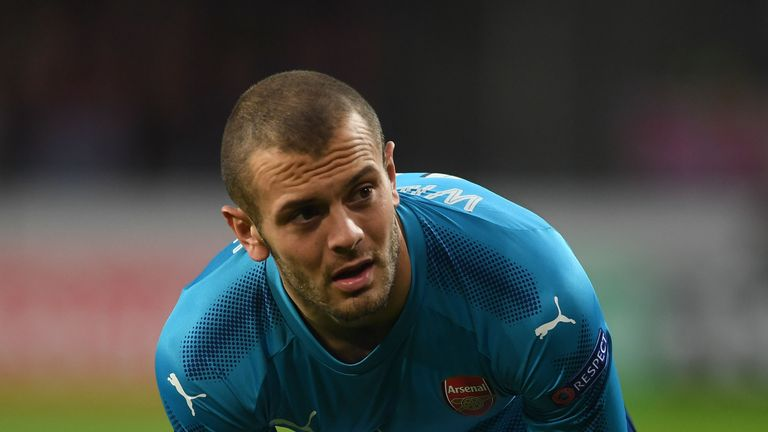 Jack Wilshere has played just 25 minutes of Premier League football this season