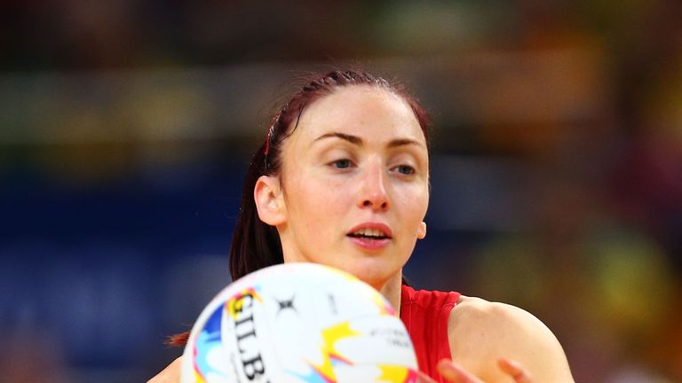 Clarke is one of the senior members of Tracey Neville's squad