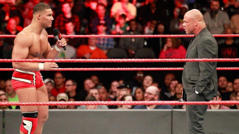 Jordan received little support from his father when under pressure from Stephanie McMahon