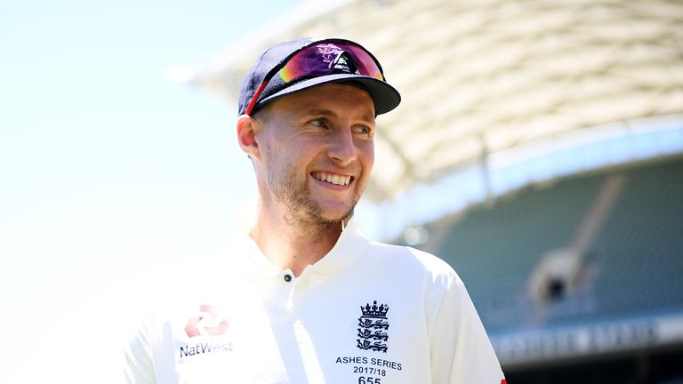 Joe Root made 15 at The Gabba on day one