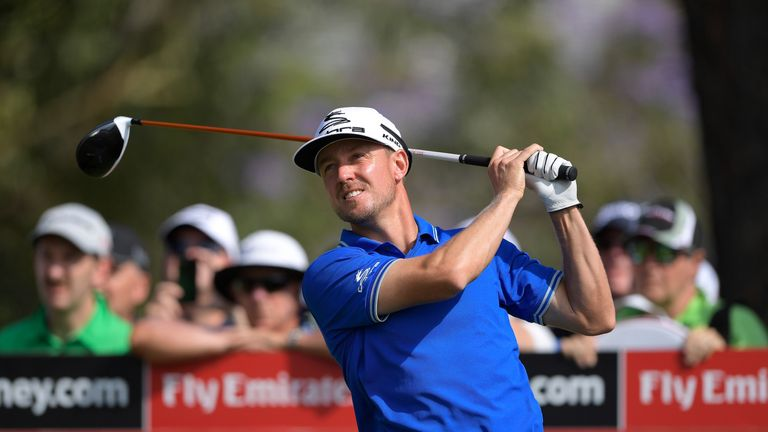 Jonas Blixt just missed out on a play-off at The Australian
