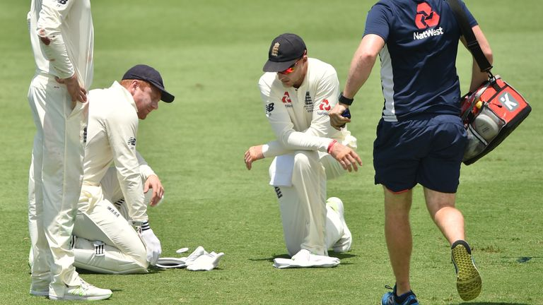Bairstow suffered an injury scare during a warm-up match, but says he will be fit for the first Ashes Test