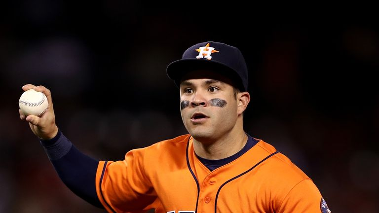 Jose Altuve helped lead the Houston Astros to the World Series