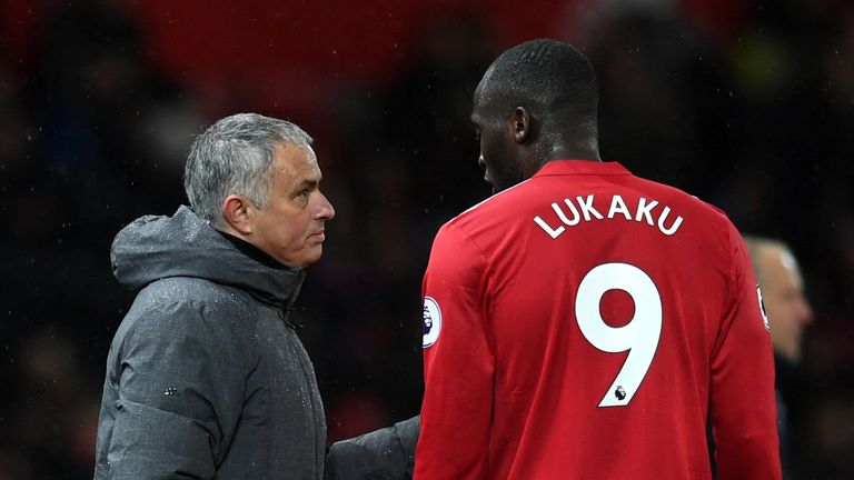Mourinho is likely to stick with Romelu Lukaku following his midweek goal in the win over CSKA Moscow