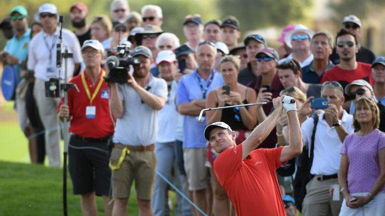 Justin Rose insists he is not under pressure ahead of the final day of the season