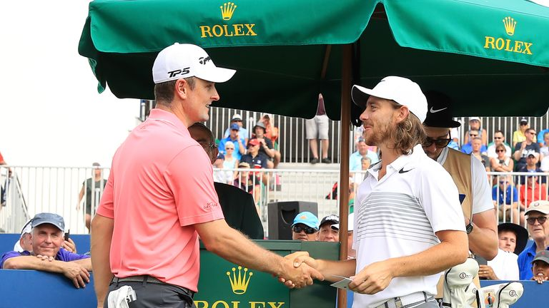 Justin Rose and Tommy Fleetwood both had a chance of ending the year as European No 1