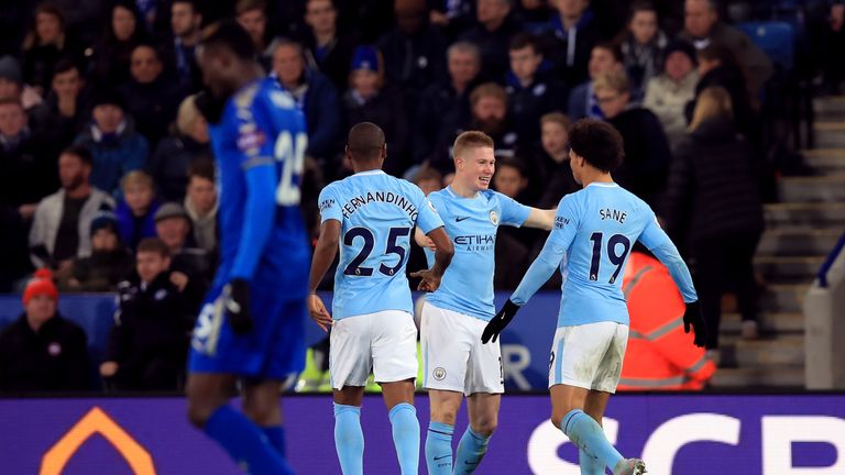 Manchester City are unbeaten this season in all competitions