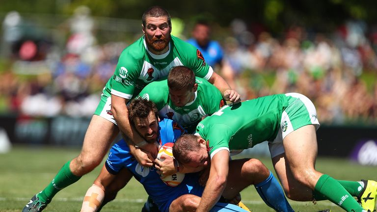 The Ireland forwards added plenty of punch up front