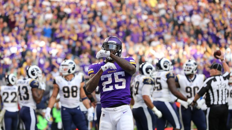 Latavius Murray has been a quality free agent addition at running back