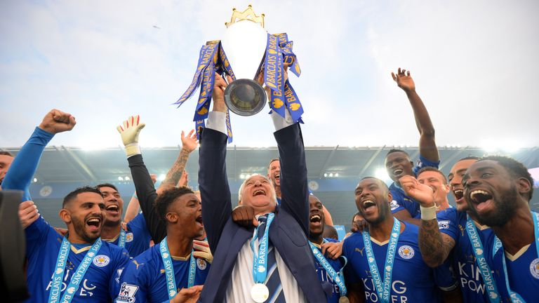Leicester had the most consistent line-up during 2015/16