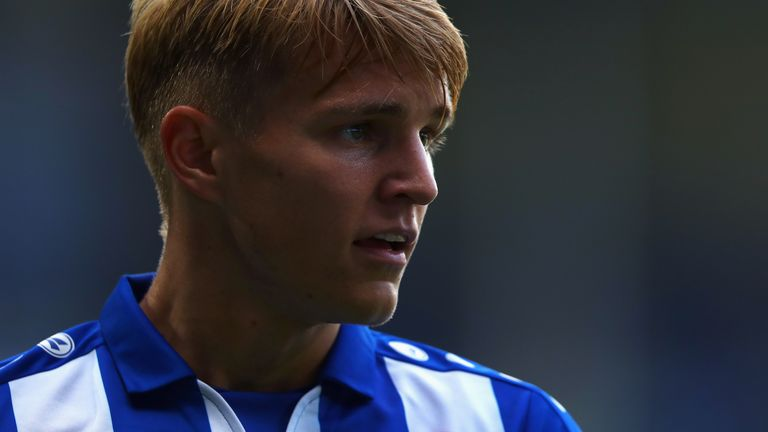 Odegaard spent last season on loan with Heerenveen, scoring three goals