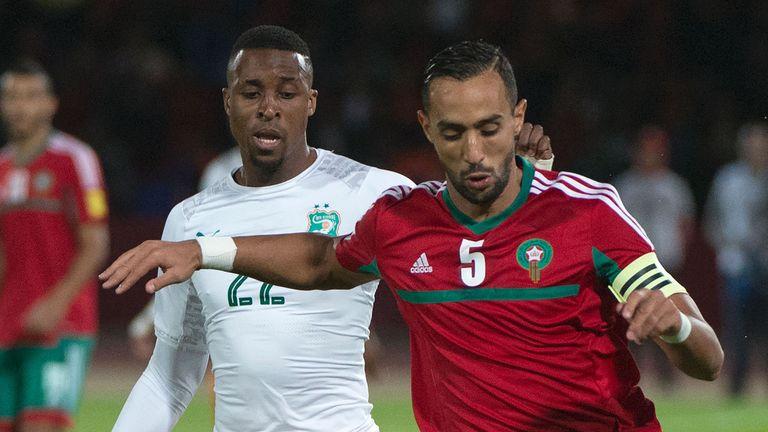 Mehdi Benatia scored for Morocco against Ivory Coast