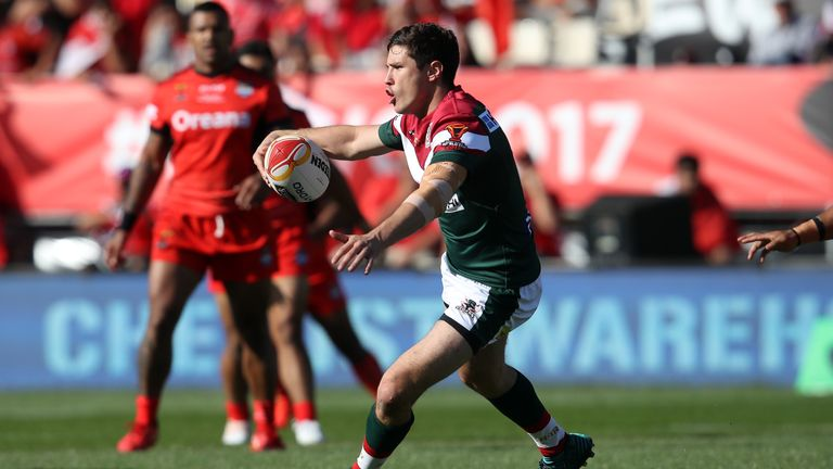 Mitchell Moses guided Lebanon around the pitch well with a strong performance