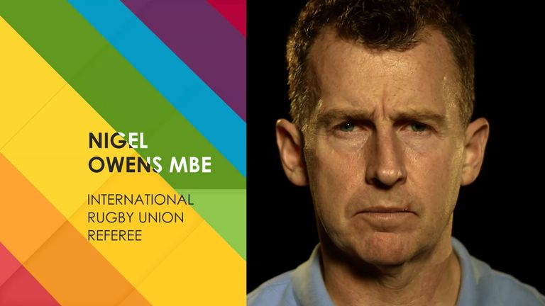 Don't miss the first episode featuring Nigel Owens on Sky Sports Mix on Friday