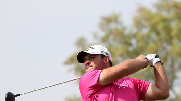 Patrick Reed set the early pace in Dubai last year
