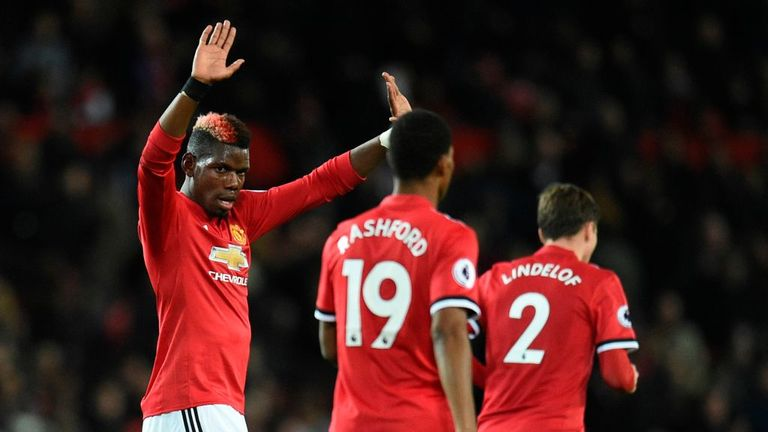 Paul Pogba returned from injury to star for Manchester United