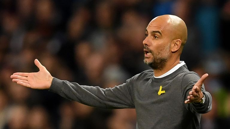 Pep Guardiola admitted that his side were not at their best on Tuesday