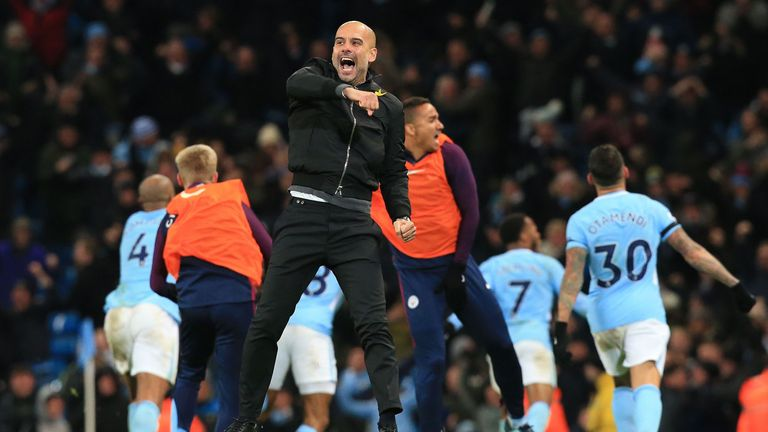 Pep Guardiola has plenty of reasons to celebrate this Christmas