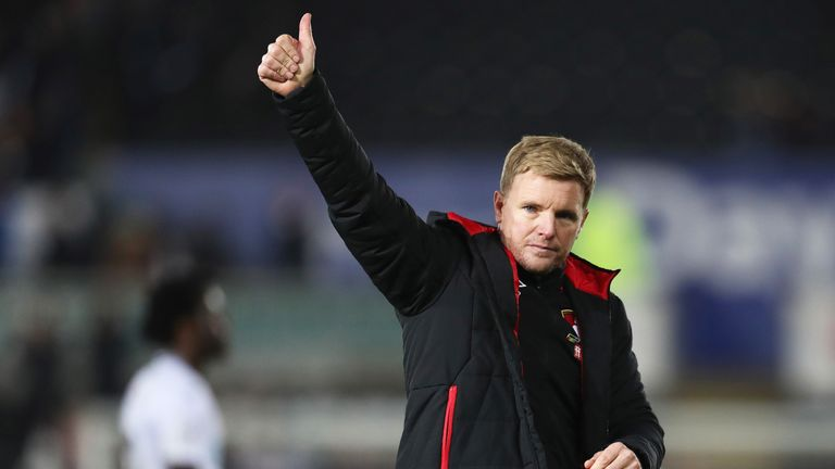 Howe started his managerial career with Bournemouth