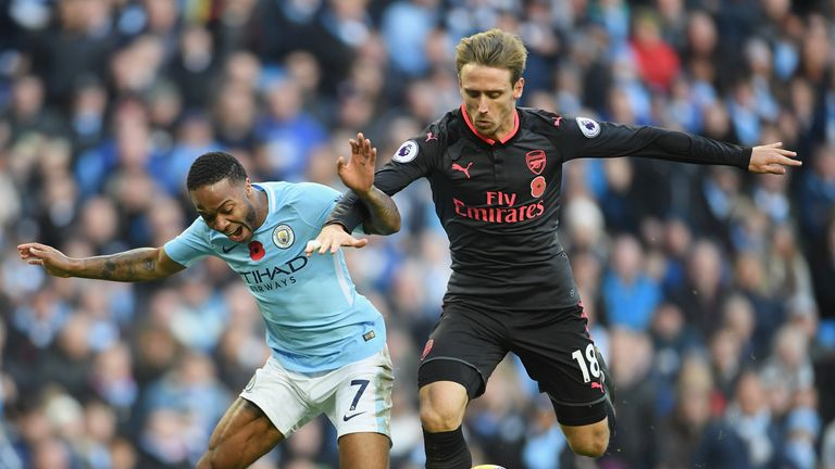 Wenger was critical of Raheem Sterling over the penalty incident with Nacho Monreal