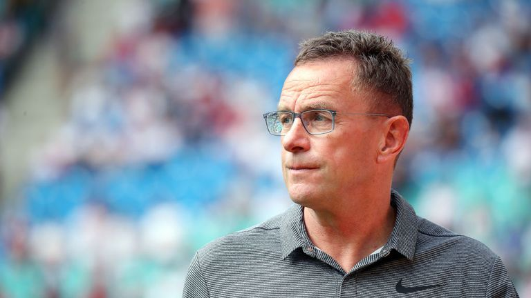 Ralf Rangnick has committed his future to RB Leipzig