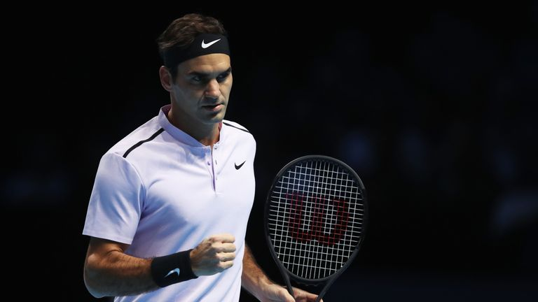 Joshua says he wants a similar legacy in boxing to Roger Federer's in tennis