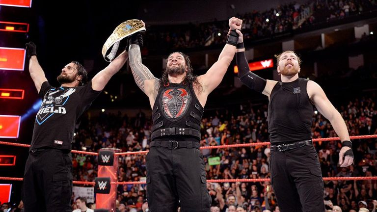 Reigns' Shield faction is one of the most popular groups in modern WWE