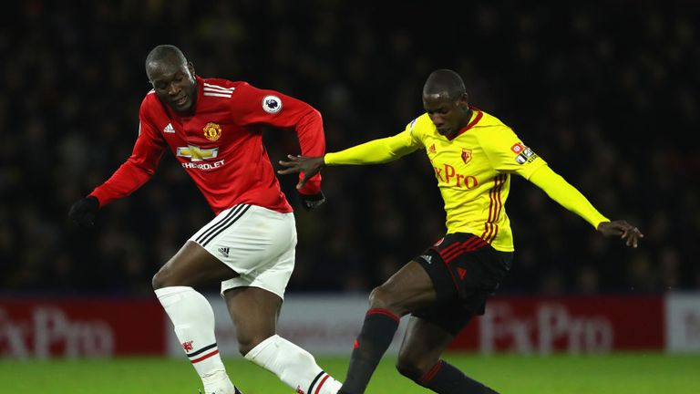 Lukaku, without a boot sponsor, appeared to black out the Nike tick on his boots