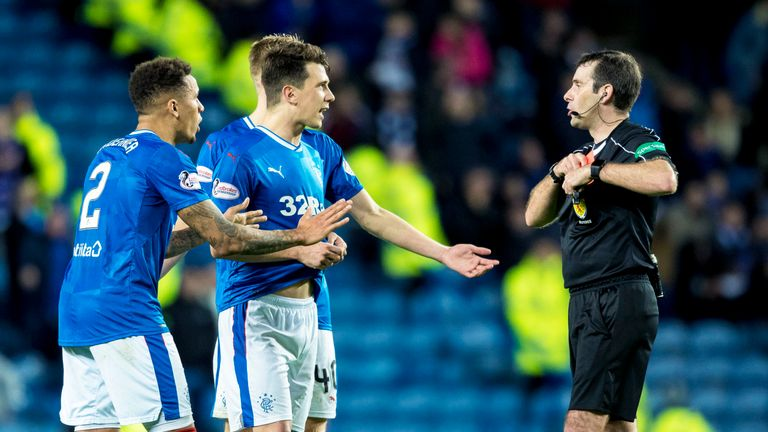 Ryan Jack won his appeal appeal against the red card he received versus Kilmarnock