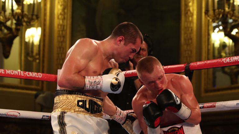 Hurtful hooks from Quigg began to take their toll on Yefimovych