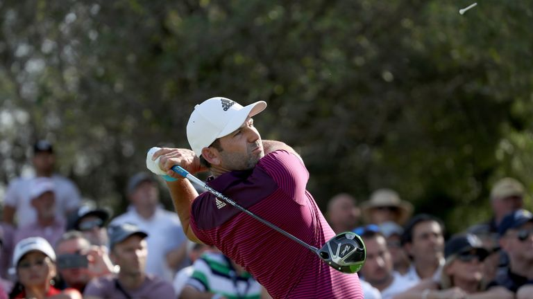Garcia finished tied-fourth at the season-ending DP World Tour Championship