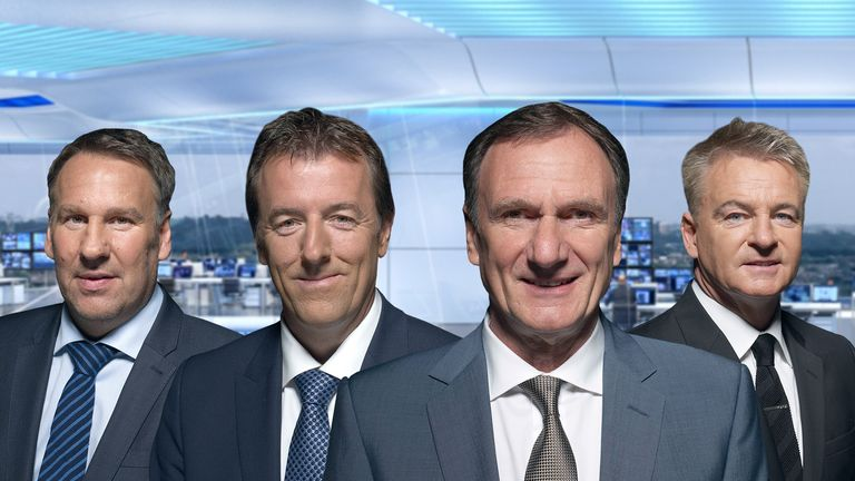 Soccer Saturday pundits