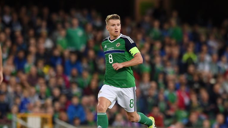 Steven Davis has urged football fans to stay indoors where possible and keep in touch with loved ones