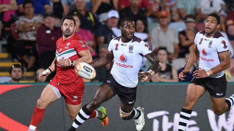 Suliasi Vunivalu has been in tremendous form for Fiji and currently tops the World Cup try chart with 8 tries