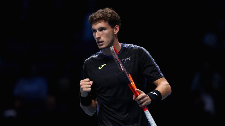 Pablo Carreno Busta impressed on his ATP Finals debut