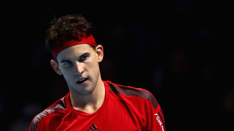 Dominic Thiem will need to overcome David Goffin to reach the semi-finals