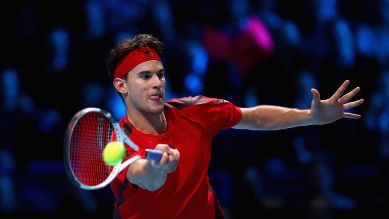 Thiem prevailed in the final set