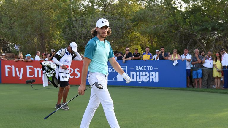 Fleetwood finished in a share of 21st in Dubai