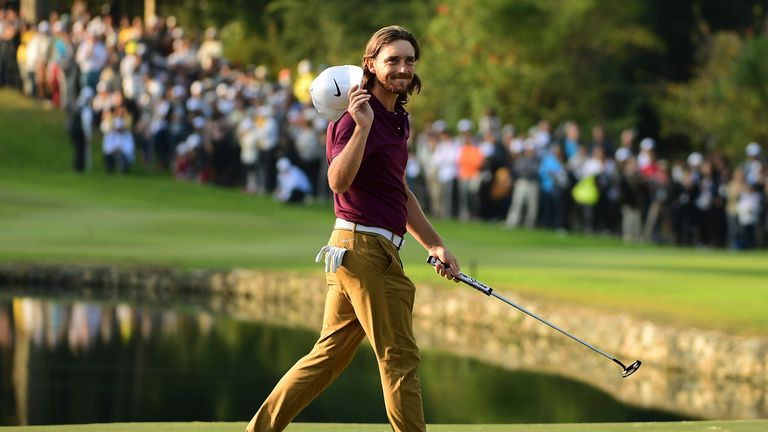 Tommy Fleetwood finished sixth at Fanling