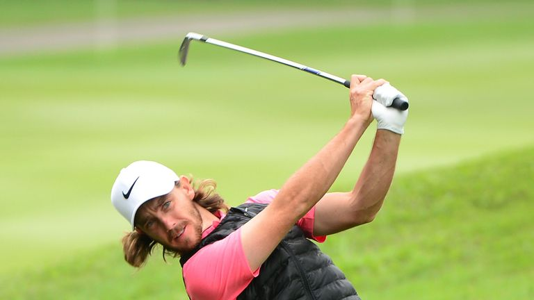 Tommy Fleetwood is just two off the lead after a 66