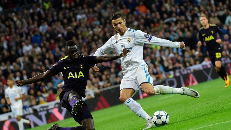 Davinson Sanchez impressed against Real Madrid in the Champions League