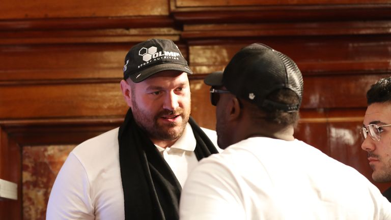 Only AJ can beat Tyson Fury - Haye vows