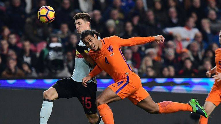 Virgil van Dijk and the Netherlands won't be in Russia
