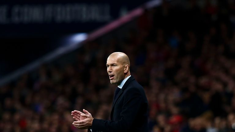 Zinedine Zidane could face a selection headache ahead of El Clasico