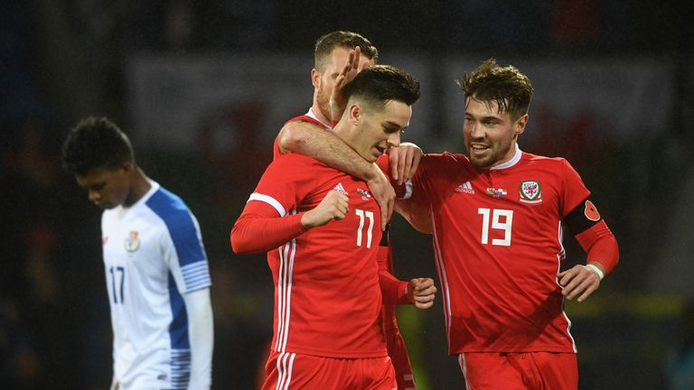 Tom Lawrence scored Wales' opener
